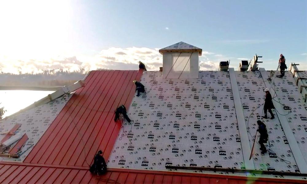 Dakota Roofing Commercial Metal Roof Construction