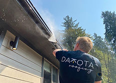 Dakota Roofing cleaning and maintenance