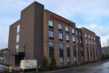 Hampton Inn & Suites in Hood River Oregon by Revive Exteriors