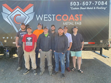 West Coast Metal Fab Team
