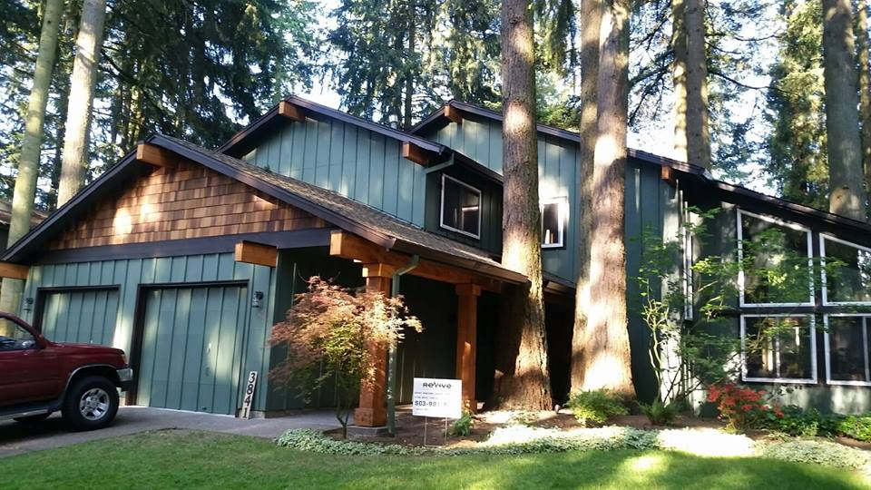 residential home exterior remodel