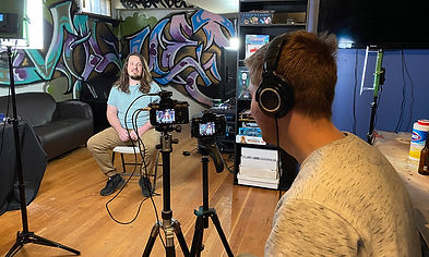 Skyline VIdeo Productions filming interview