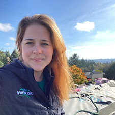 Sara Klindtworth, co-owner of Marcano Roofing
