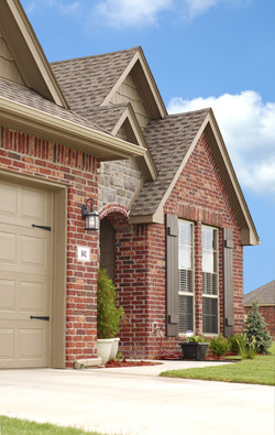 Revive Exteriors brick installation on house