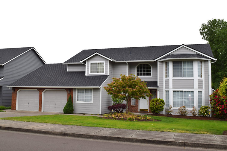 New siding on a house in Keizer, OR