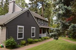 new siding on a lake oswego house
