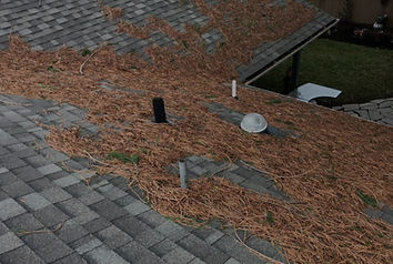 A residential Roof in salem Oregon receiving annual roof maintenance by Marcano Roofing Contractor