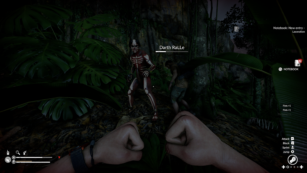 Hostile tribes will strike when you're least prepared. Pays to bring a weapon... and a friend