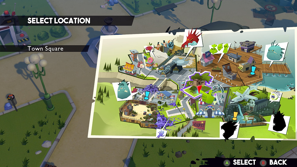 A decent sized map is full of secrets, collectibles and unlockables to discover