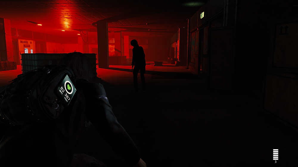 Enemies can somehow see in the dark despite shadows intended to hide the player