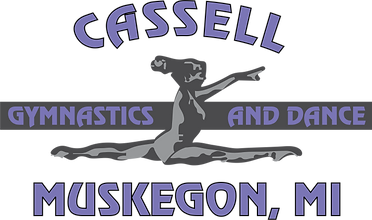 Cassell Gymnastics & Dance 2 Color Logo