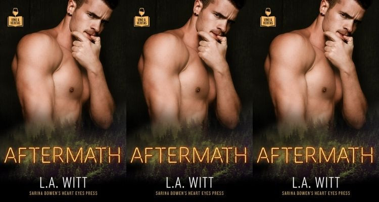 Picture of three repeating book covers for Aftermath