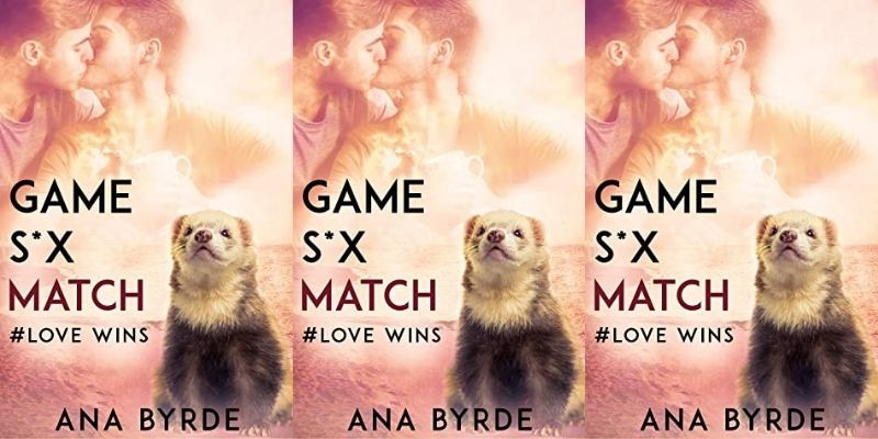 Three book cover images of Game S*x Match