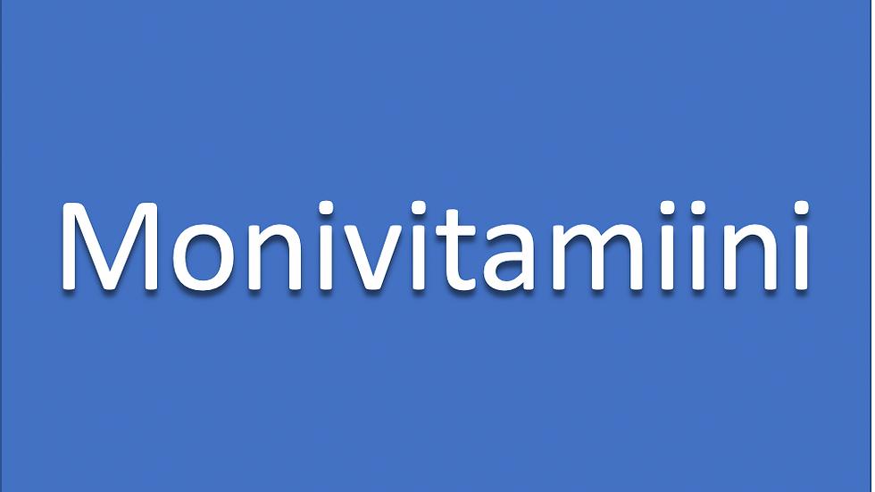 MONIVITAMIINI