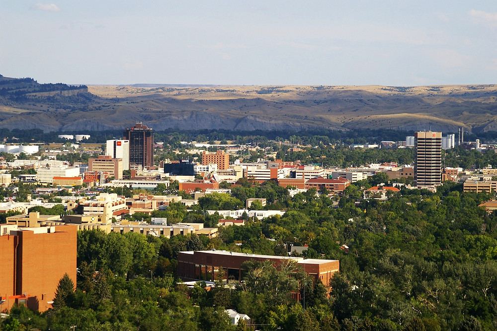 Once a tented landscape of miners and workers, the railroad quickly brought growth an docmmerce to Billings, MT.