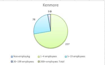 Accounting for Business Employment in Kenmore