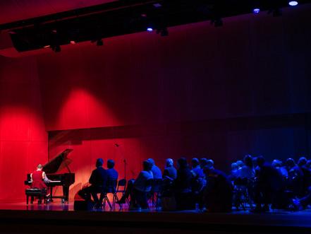 Recital success for budding pianist