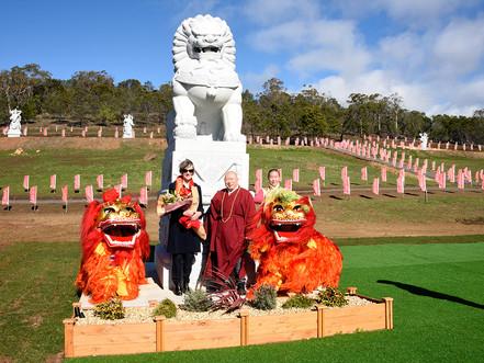 Governor of Tasmania visits Tasmanian Chinese Cultural Park