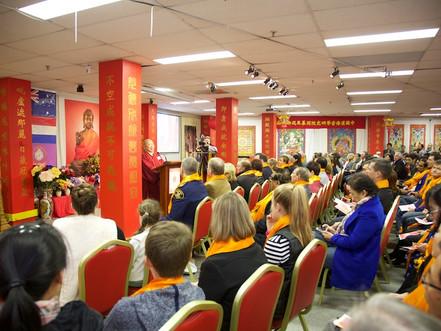 2559 Bathing Buddha Ceremony