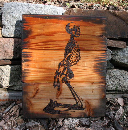 Human Skeleton: bound hands