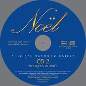 Rond CD Pressage NOEL CD2 orchestre copi