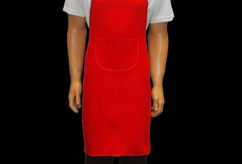 Avental de Frente Vermelho