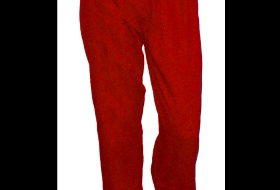 Calça Brim Leve Vermelha