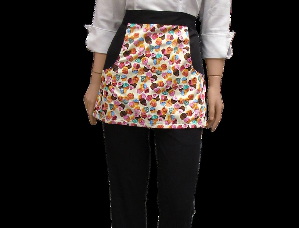Avental Saia-Mini Cupcakes