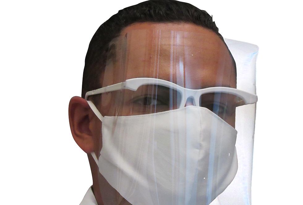 Máscara de Proteção Facial - Face Shield - Gastronomia
