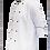 Thumbnail: Dólmã Tradicional Branca com Vivo Preto