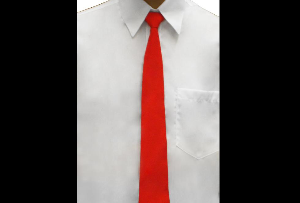 Gravata Social Vermelha