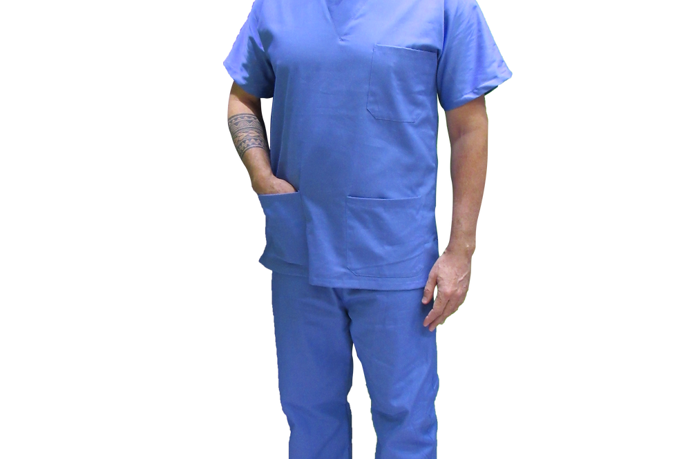 Pijama Cirúrgico Azul Claro