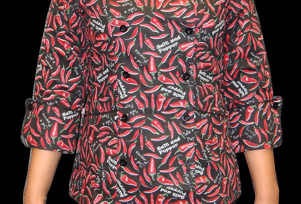 Dólmã Feminina Full Estampa Pimentas