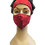 Thumbnail: Kit Máscara + Boina Floral Vermelho