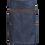 Thumbnail: Avental Saia Jeans com Couro