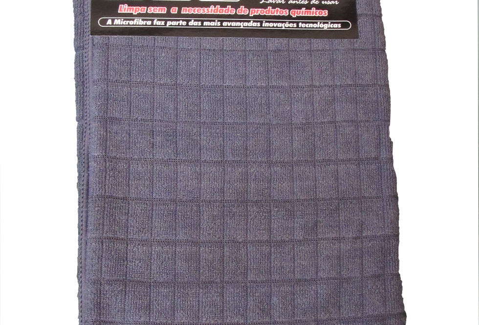 Pano de Microfibra Cinza - 58cmX48cm
