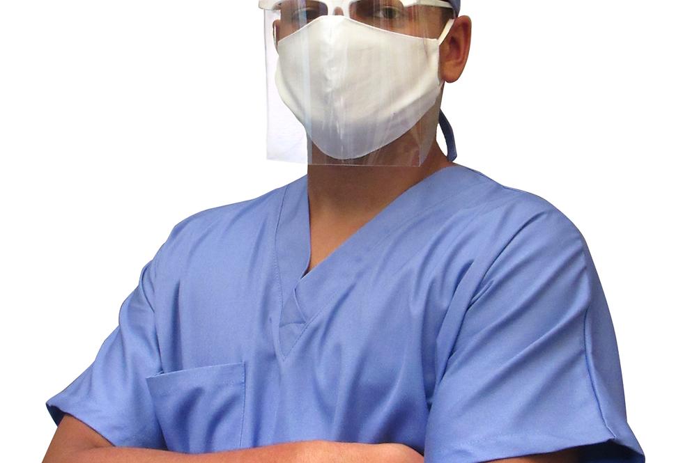 Máscara de Proteção Facial - Face Shield - Cirúrgico