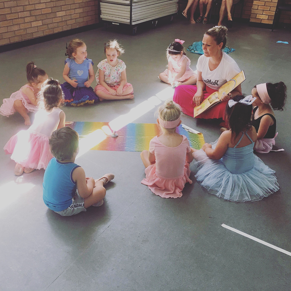 Kinderballet's use of storytelling sets itself apart from similar programs