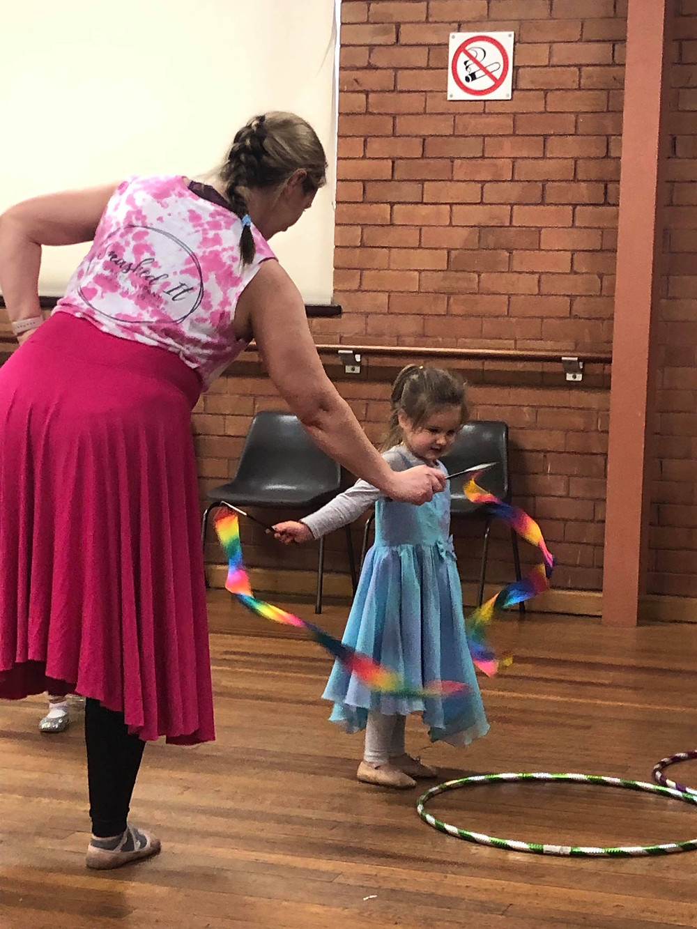 Kinderballet allows me to teach more than dance to my students.