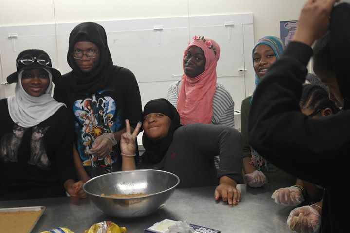Cooking class 15-18 yr. olds