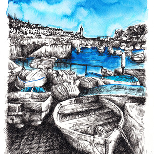 Porthleven Boats