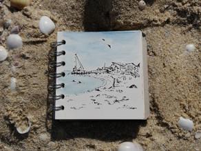 Sketch #26 - Monkey Mia, Shark Bay