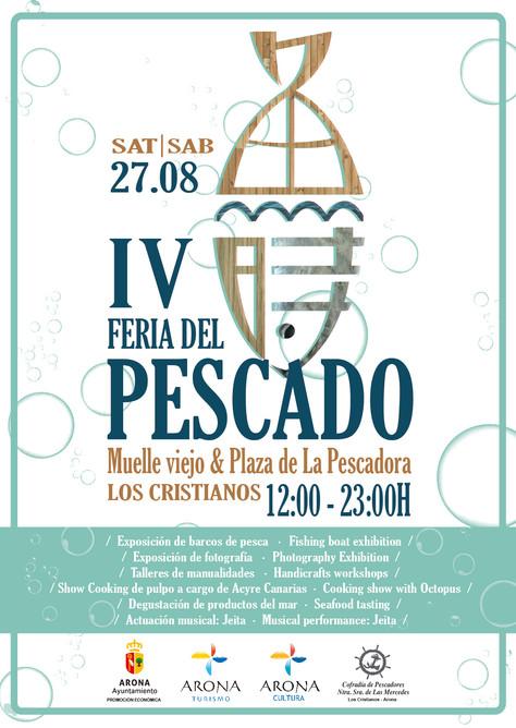 4ª FERIA DEL PESCADO LOS CRISTIANOS