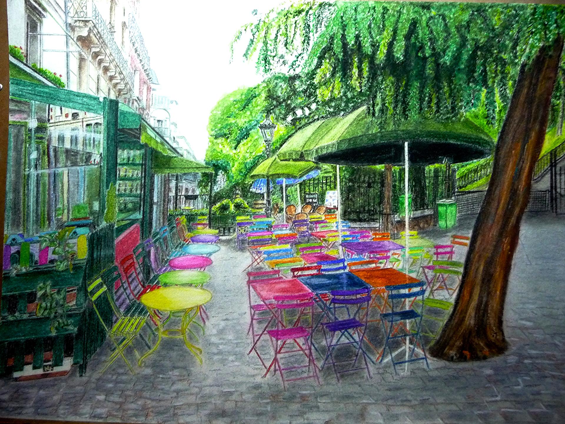 18°Ardt : Place de La Barre
