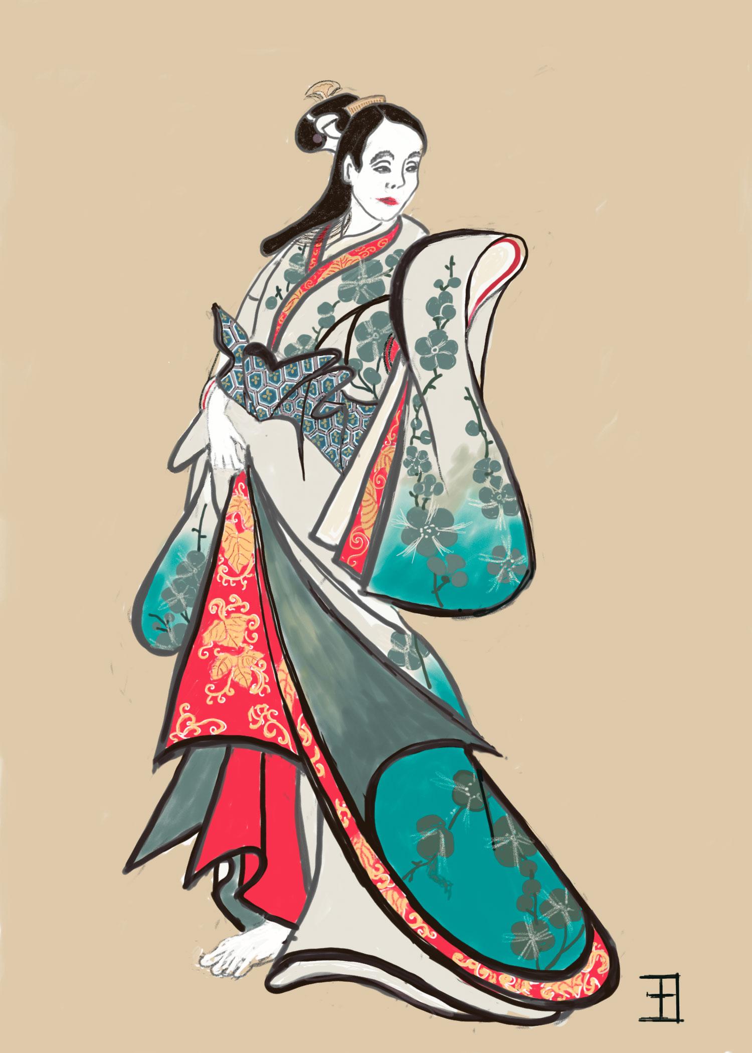 Mrs-Ichibe-Uriko-e-style