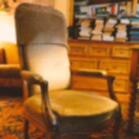 fauteuil de la Psychanalyste Edith Baldinger