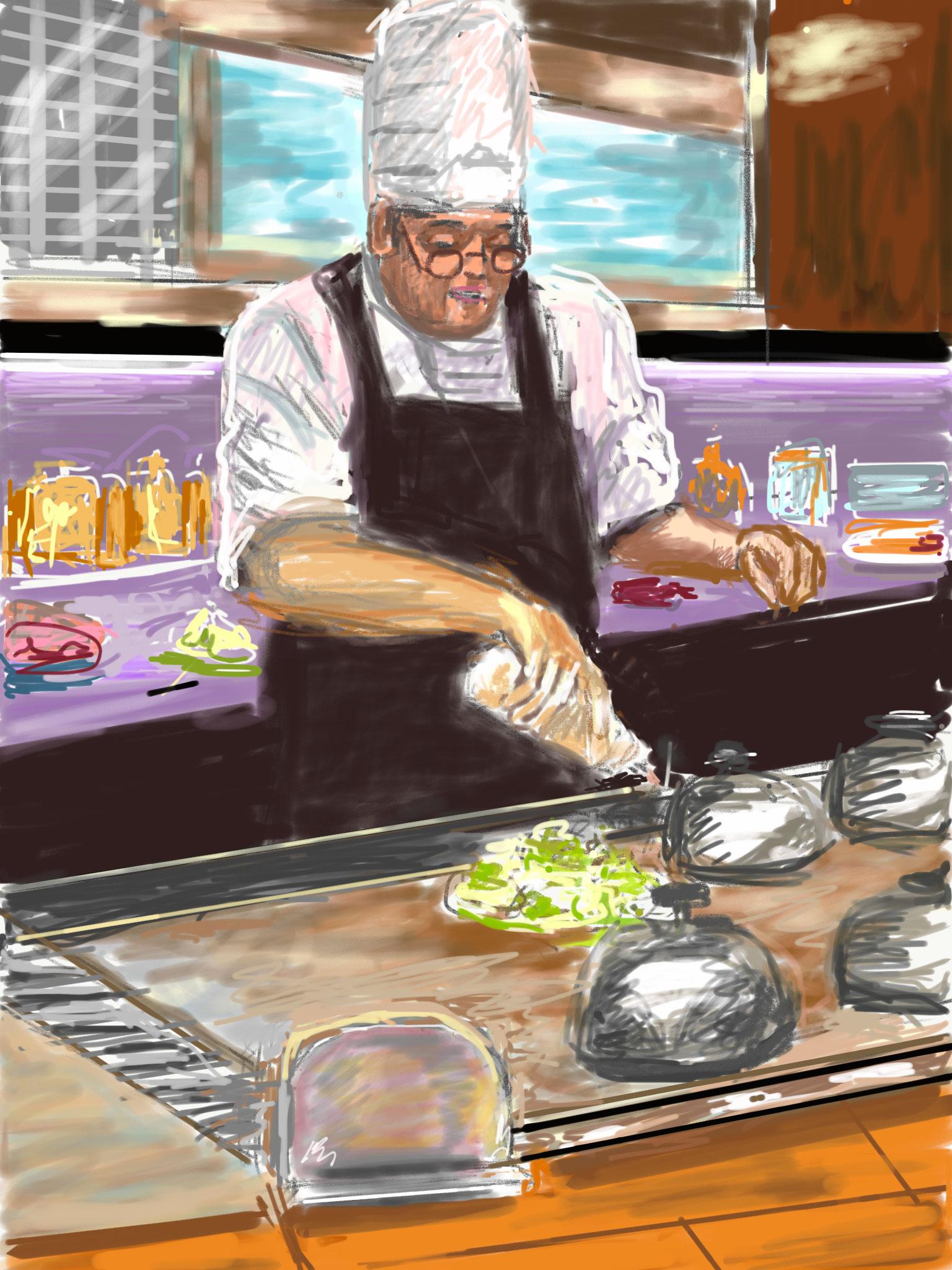 Okonomiyaki-Cook