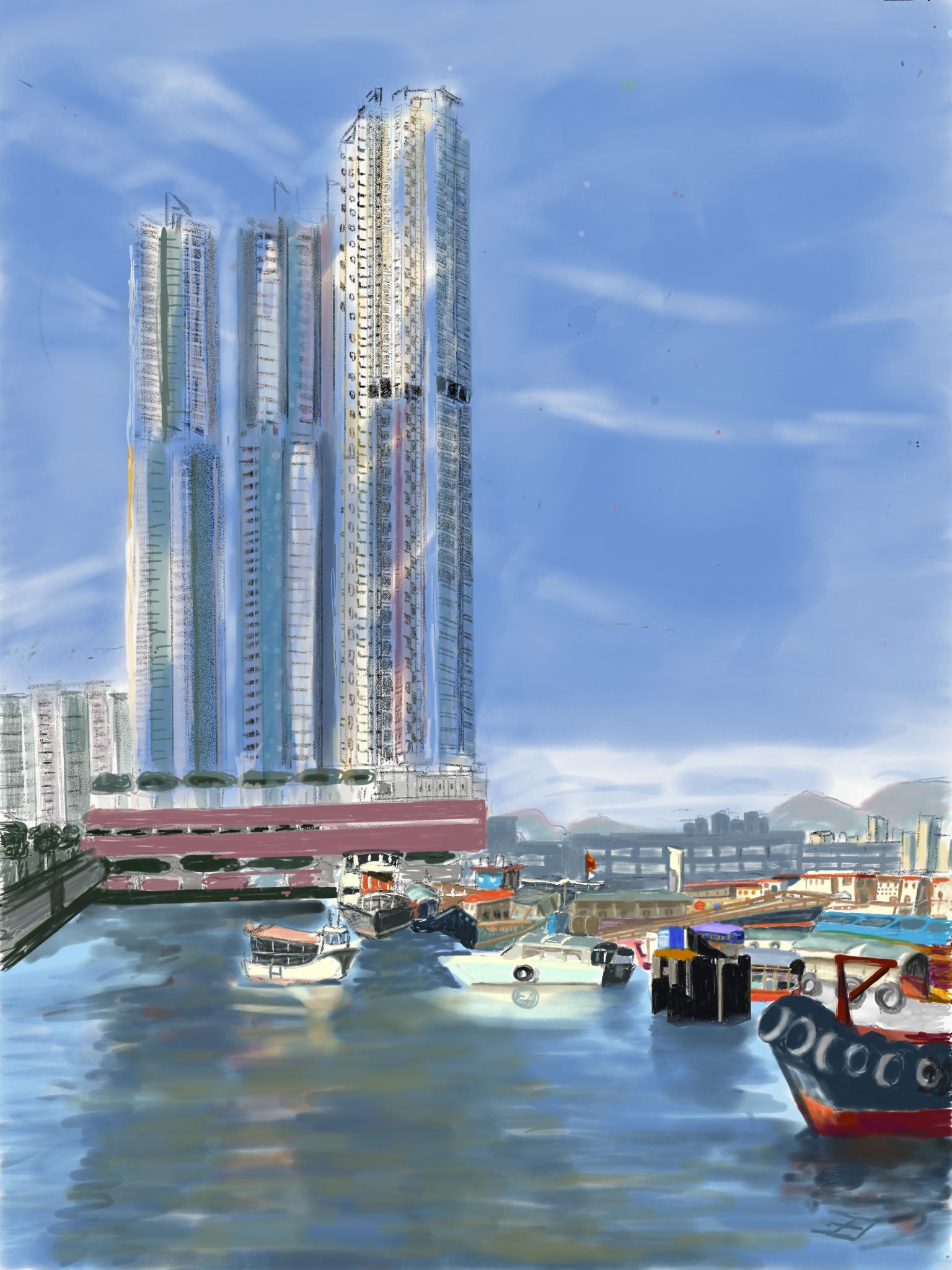 Petit Port à Hong Kong