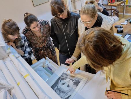 Ana Morgadinho, visita ao Atelier