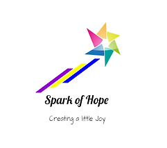 """Spark of Hope"" Logo by John Millington of Conquest Publishing Comics & Gaming"